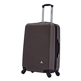 InUSA Royal Hardside Spinner Checked Luggage
