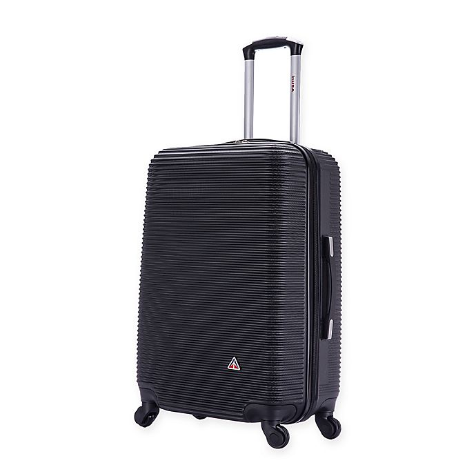 Alternate image 1 for InUSA Royal 24-Inch Hardside Spinner Checked Luggage in Black