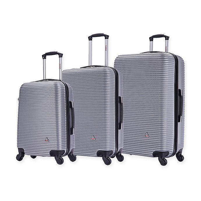 Alternate image 1 for InUSA Royal 3-Piece Hardside Spinner Luggage Set