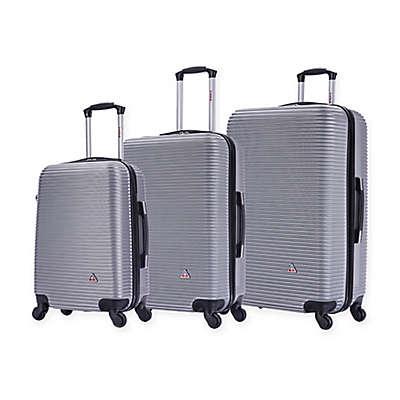 InUSA Royal 3-Piece Hardside Spinner Luggage Set