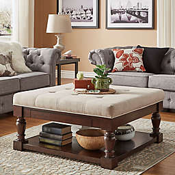 Tufted Ottoman Coffee Table Bed Bath Beyond