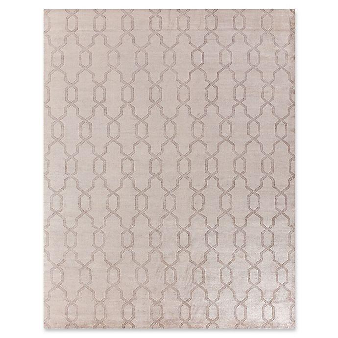 Alternate image 1 for Exquisite Rugs Samara Hexagon Lattice 8-Foot x 10-Foot Area Rug in Beige