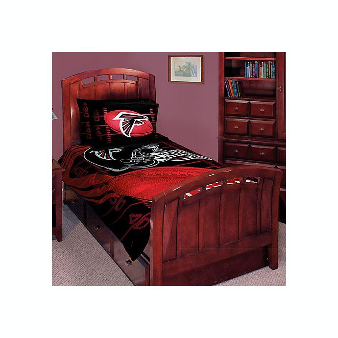6a065103 NFL Atlanta Falcons Twin/Full Comforter Set | Bed Bath & Beyond