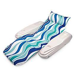 Poolmaster® Rio Sun Adjustable Floating Chaise Lounge in Blue