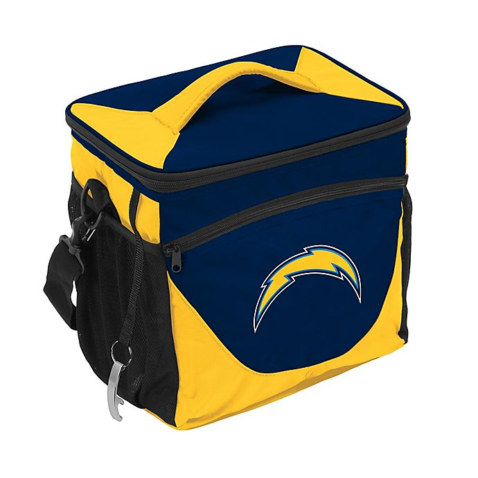 Alternate image 1 for NFL Los Angeles Chargers 24-Can Cooler Bag in Black