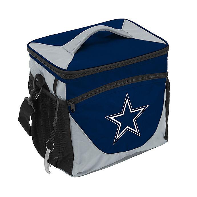 Alternate image 1 for NFL Dallas Cowboys 24-Can Cooler Bag in Navy