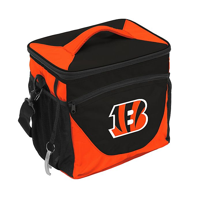 Alternate image 1 for NFL Cincinnati Bengals 24-Can Cooler Bag in Navy