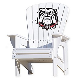 University of Georgia Bulldogs Adirondack Chair