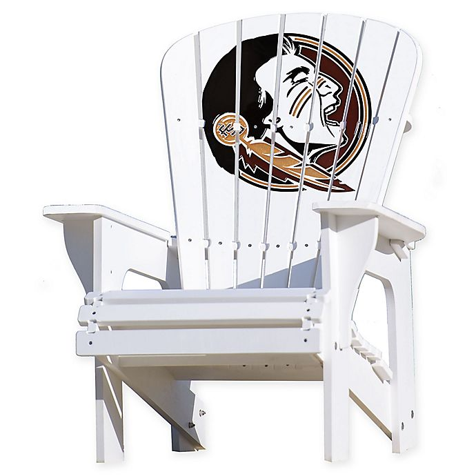 Alternate image 1 for Florida State University Seminoles Adirondack Chair