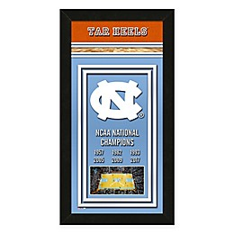 University of North Carolina Tar Heels 2017 National Champions Framed Banner