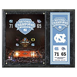 University of North Carolina Tar Heels 2017 National Champions Composite Plaque