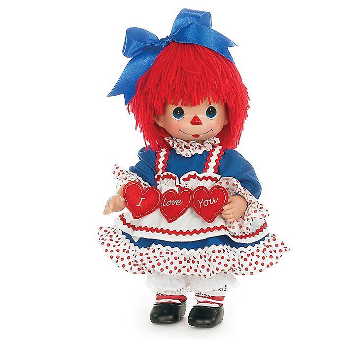 Alternate image 1 for Precious Moments® Raggedy Ann I Love You 95th Anniversary Doll