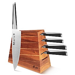 Cangshan X Series 6-Piece Knife Block Set
