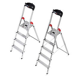 halo™ L60 Step Ladder in Silver