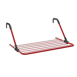 Brabantia 15-Foot Hanging Drying Rack in Passion Red