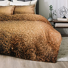 Deny Designs Chelsea Victoria Gold Dust 2-Piece Twin/Twin XL Comforter Set in Gold