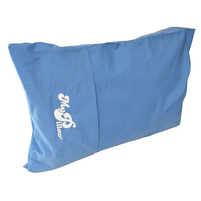 Alternate image 1 for MyPillow® Travel Pillow in Day Break Blue