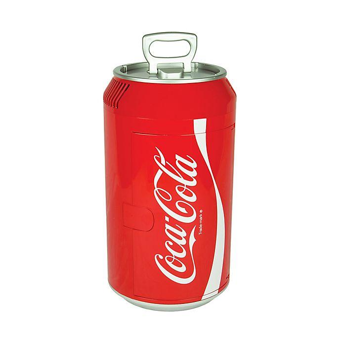 Alternate image 1 for Coca-Cola® Can Mini Fridge in Red