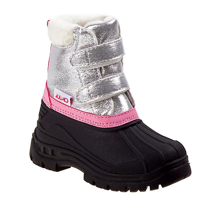 Alternate image 1 for Josmo Shoes Size 5 Rugged Bear Snow Boot in Silver
