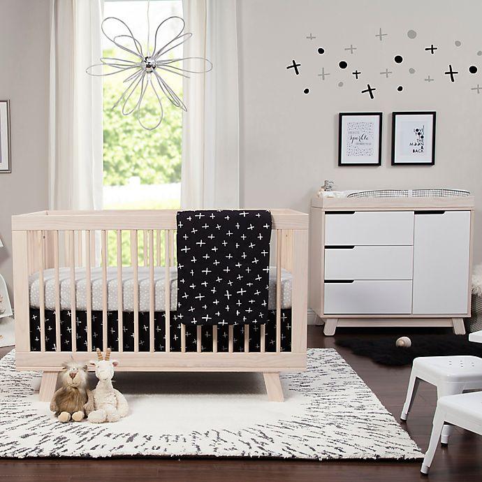 Alternate image 1 for Babyletto Tuxedo 5-Piece Crib Bedding Set