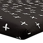 Babyletto Tuxedo Swiss Cross Fitted Mini Crib Sheet