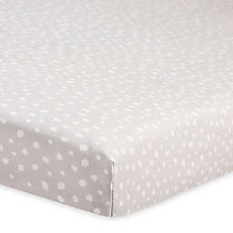 Babyletto Tuxedo Dots Fitted Mini Crib Sheet