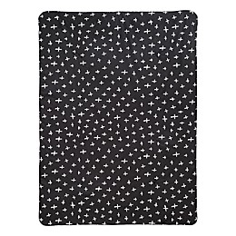 Babyletto Tuxedo Swiss Cross 2-in-1 Play and Toddler Blanket