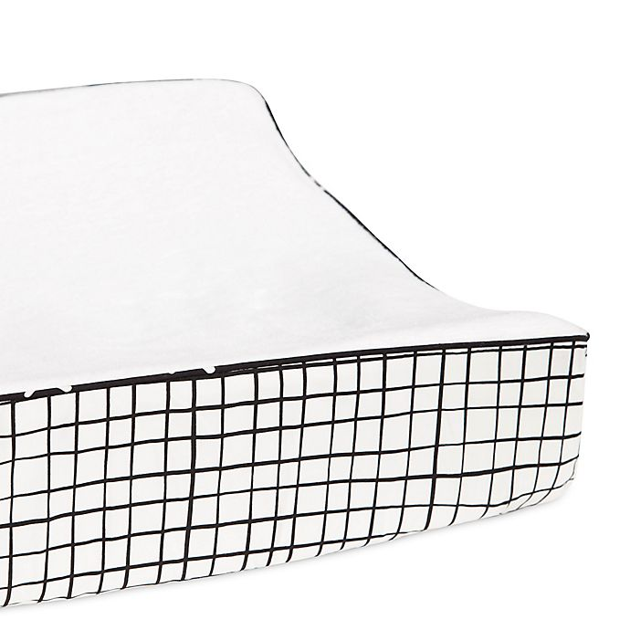 Alternate image 1 for Babyletto Tuxedo Contour Changing Pad Cover