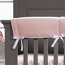 Liz and Roo Petal Pink Linens Long Rail Guard
