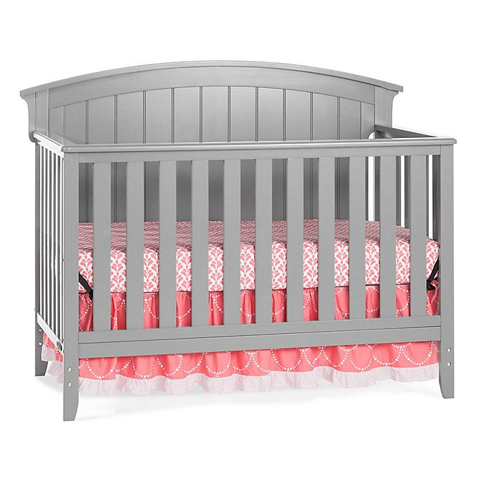 Alternate image 1 for Child Craft™ Delaney 4-in-1 Convertible Crib in Cool Grey