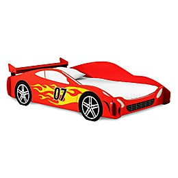Legare® Race Car Twin Bed in Red