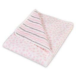 Trend Lab® Cloud Knit Blanket in Pink/Grey