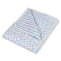 Trend Lab® Cloud Knit Blanket in Blue/Grey