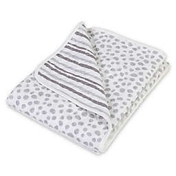 Trend Lab® Cloud Knit Blanket in Grey/White
