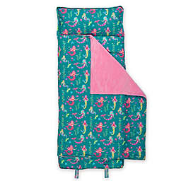 Stephen Joseph® Mermaid Print Nap Mat in Teal