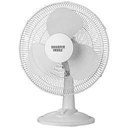 Sharper Image® 12-Inch Tabletop Fan in White