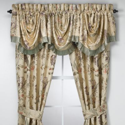 Croscill 174 Swag Valance In Iris Bed Bath And Beyond Canada
