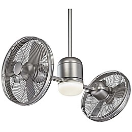 Minka-Aire® Gyro™ 42-Inch 1-Light Ceiling Fan in Silver
