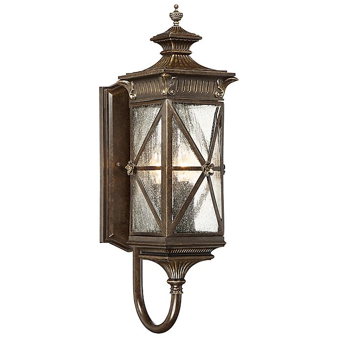 Alternate image 1 for The Great Outdoors® by Minka-Lavery® Rue Vielle 24-Inch Lantern in Bronze