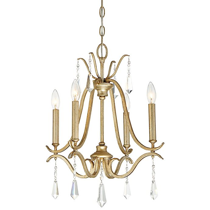 Alternate image 1 for Minka Lavery® Laurel Estate 4-Light Chandelier in Brio Gold