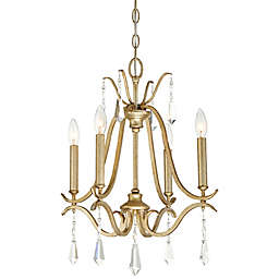 Minka Lavery® Laurel Estate 4-Light Chandelier in Brio Gold