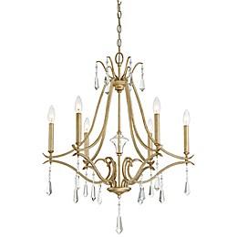 Minka Lavery® Laurel Estate 6-Light Chandelier in Brio Gold