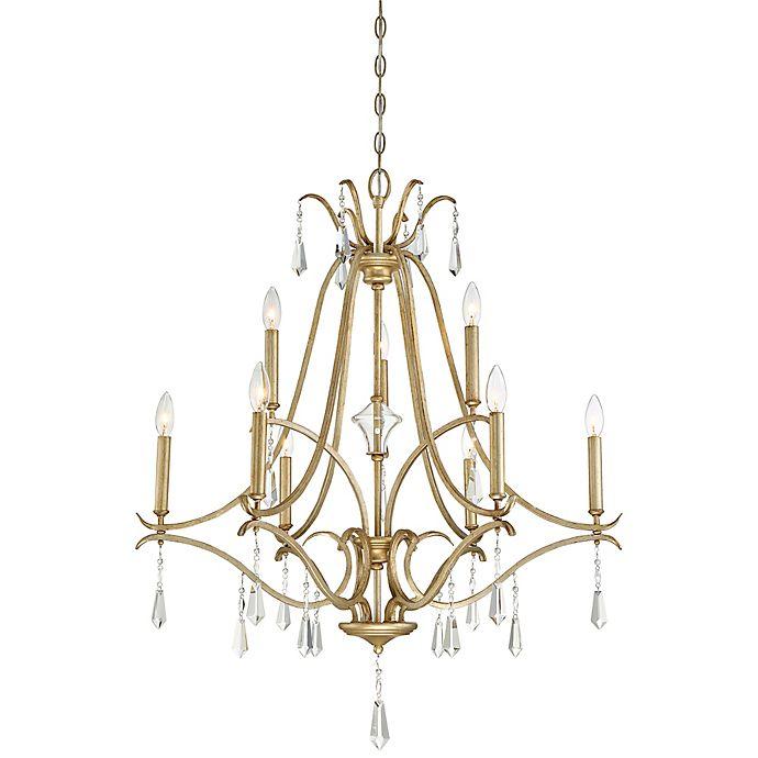 Alternate image 1 for Minka Lavery® Laurel Estate 9-Light Chandelier in Brio Gold