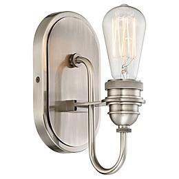 Minka Lavery® Uptown Edison Vanity Light in Pewter