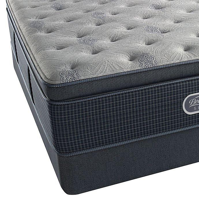 Alternate image 1 for Beautyrest® Silver™ Westlake Shores Plush Pillow Top Twin Mattress Set