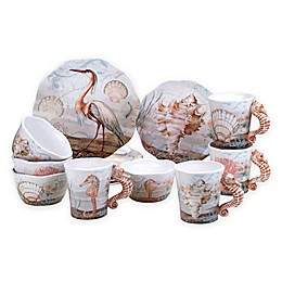 Certified International Coastal View Susan Winget Dinnerware Collection