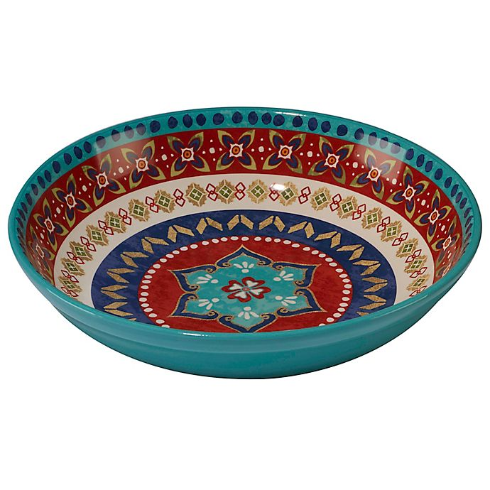 Alternate image 1 for Certified International Monterrey 13.25-Inch Pasta/Serving Bowl in Red