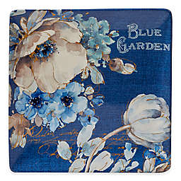 Certified International Indigold Square Platter in Blue