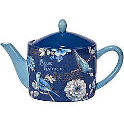 Certified International Indigold  36 oz. Teapot in Blue
