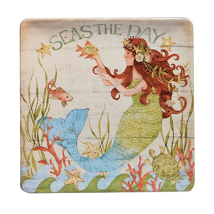 Alternate image 1 for Certified International Sea Beauty by Susan Winget Square Platter